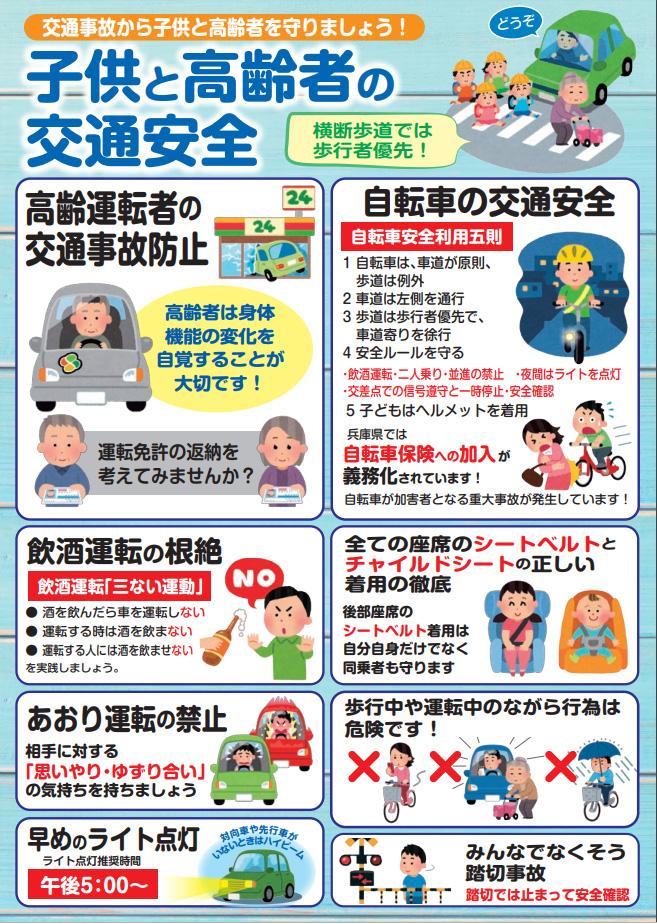 令和元年度 夏の交通事故防止運動