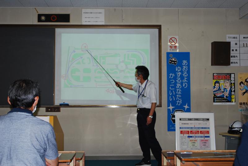 福田地区地域づくり協議会高齢者交通安全講習会